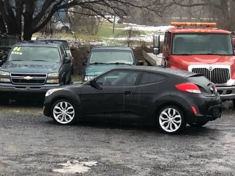 2012 Hyundai Veloster for sale at George's Used Cars Inc in Orbisonia PA
