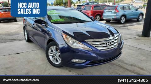 2011 Hyundai Sonata for sale at HCC AUTO SALES INC in Sarasota FL