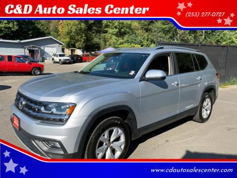 2018 Volkswagen Atlas for sale at C&D Auto Sales Center in Kent WA