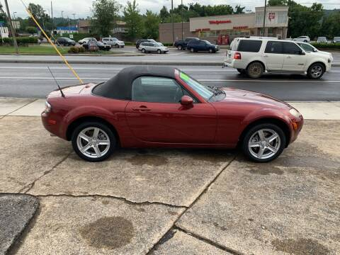 2006 Mazda MX-5 Miata for sale at State Line Motors in Bristol VA