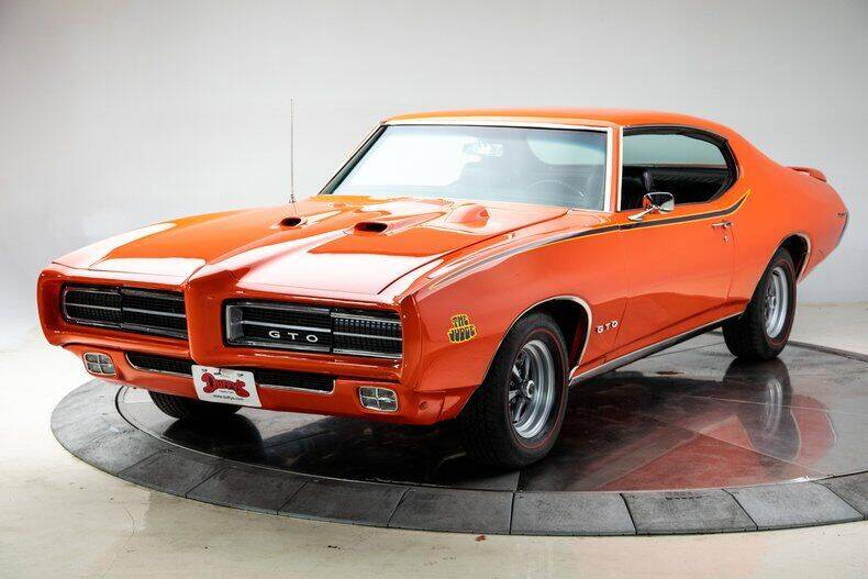 1969 Pontiac GTO for sale at Duffy's Classic Cars in Cedar Rapids IA