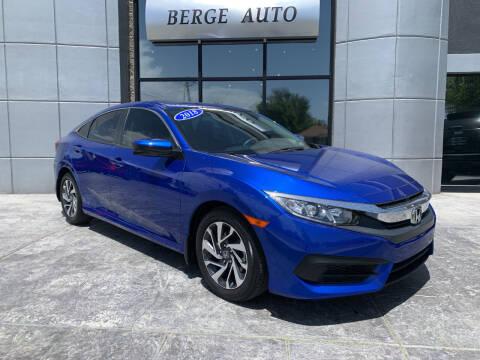 2018 Honda Civic for sale at Berge Auto in Orem UT