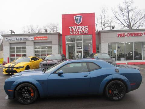 2020 Dodge Challenger for sale at Twins Auto Sales Inc in Detroit MI