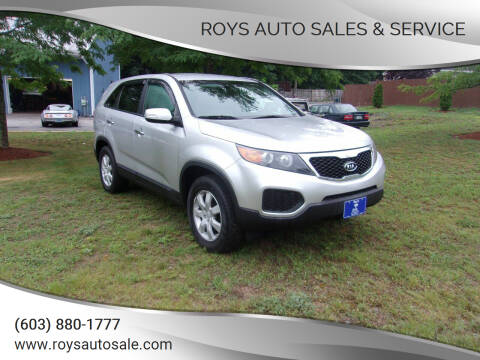2011 Kia Sorento for sale at Roys Auto Sales & Service in Hudson NH