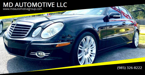2008 Mercedes-Benz E-Class for sale at MD AUTOMOTIVE LLC in Slidell LA