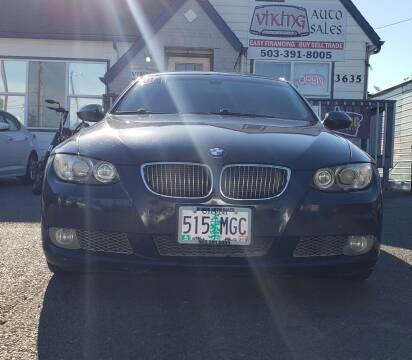 2007 BMW 3 Series for sale at VIking Auto Sales LLC in Salem OR