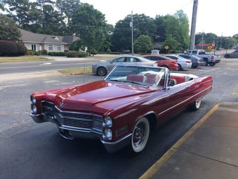 1966 Cadillac DeVille for sale at South Atlanta Motorsports in Mcdonough GA
