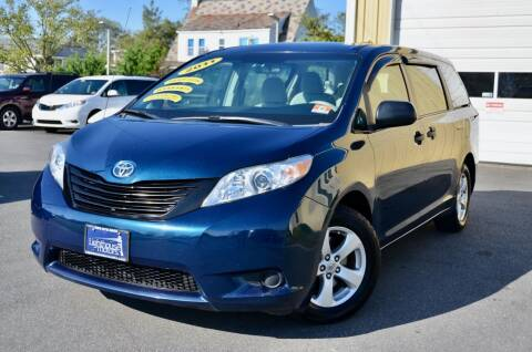 2011 Toyota Sienna for sale at Lighthouse Motors Inc. in Pleasantville NJ