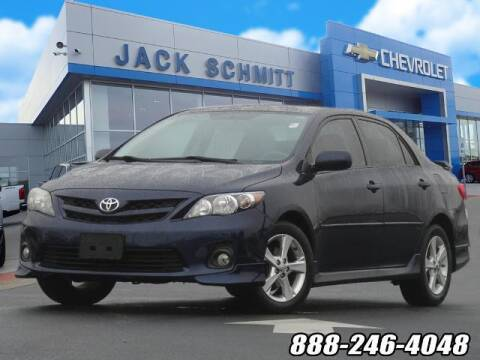 2012 Toyota Corolla for sale at Jack Schmitt Chevrolet Wood River in Wood River IL