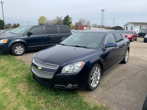 2010 Chevrolet Malibu for sale at Pine Auto Sales in Paw Paw MI
