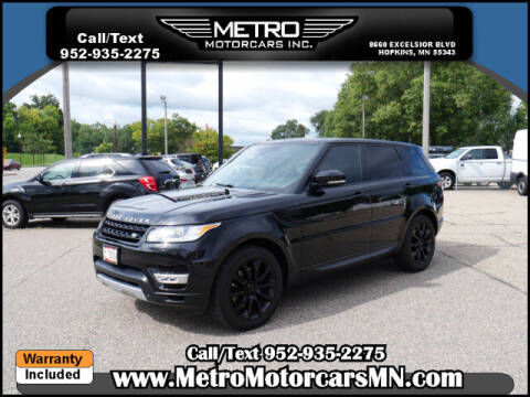 2014 Land Rover Range Rover Sport for sale at Metro Motorcars Inc in Hopkins MN