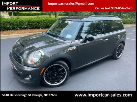 2012 MINI Cooper Clubman for sale at Import Performance Sales in Raleigh NC