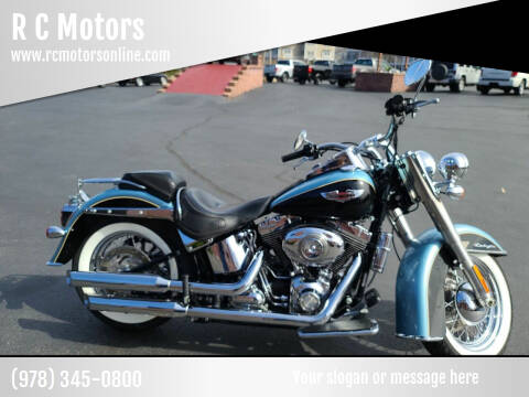 2008 Harley-Davidson Soft Tail Deluxe, 2 Tone for sale at R C Motors in Lunenburg MA