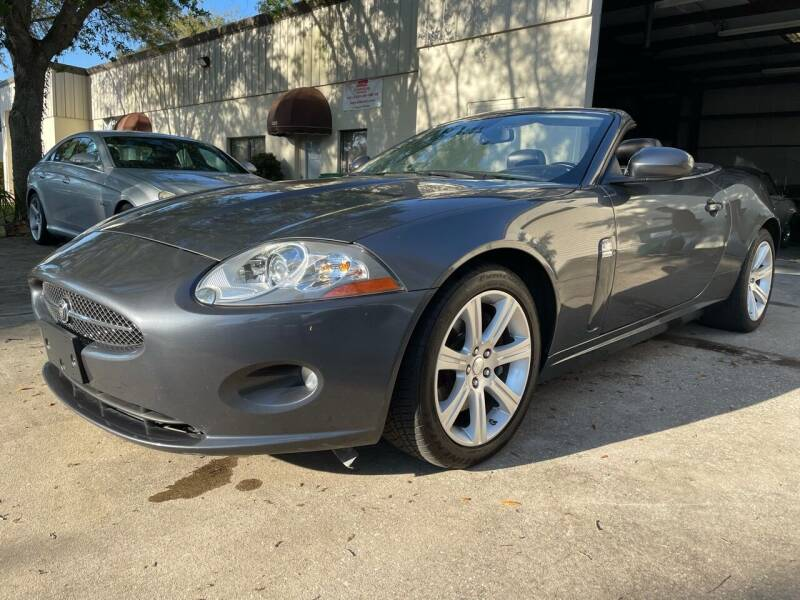 2007 Jaguar XK-Series for sale at A7 AUTO SALES in Holly Hill FL