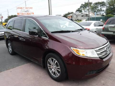 2011 Honda Odyssey for sale at LEGACY MOTORS INC in New Port Richey FL