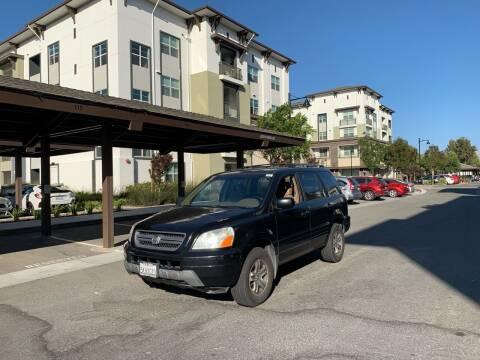 2004 Honda Pilot for sale at Blue Eagle Motors in Fremont CA
