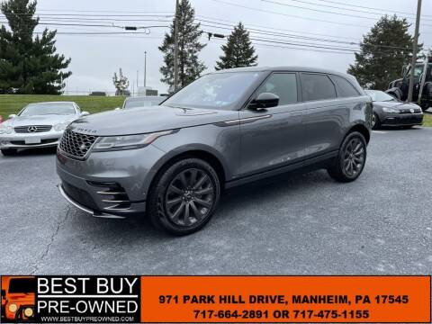 2019 Land Rover Range Rover Velar for sale at Best Buy Pre-Owned in Manheim PA