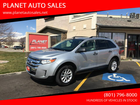 2014 Ford Edge for sale at PLANET AUTO SALES in Lindon UT