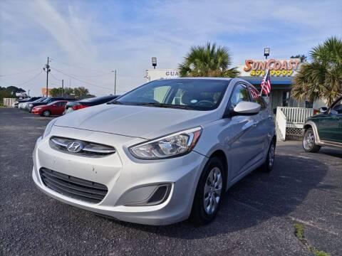 2016 Hyundai Accent for sale at Sun Coast City Auto Sales in Mobile AL