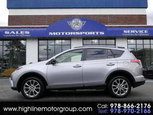 2018 Toyota RAV4 for sale at Highline Group Motorsports in Lowell MA