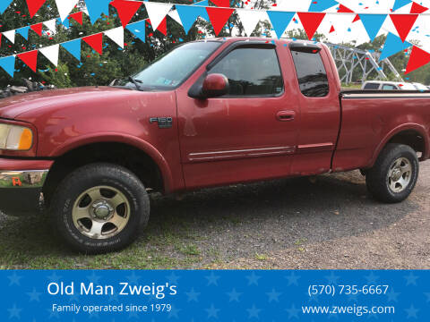 2002 Ford F-150 for sale at Old Man Zweig's in Plymouth PA