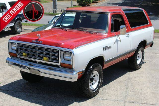 1984 Dodge Ramcharger for sale in Statesville, NC