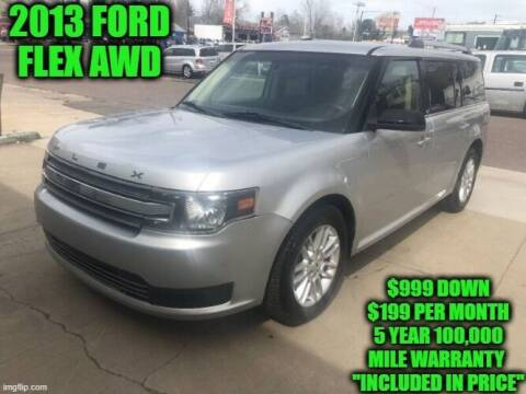 2013 Ford Flex for sale at D&D Auto Sales, LLC in Rowley MA