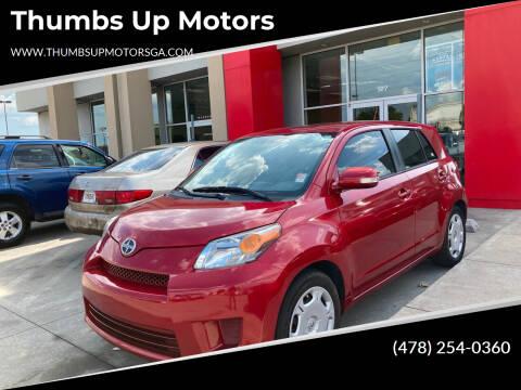 2013 Scion xD for sale at Thumbs Up Motors in Warner Robins GA