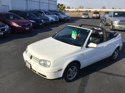 2000 Volkswagen Cabrio for sale at My Three Sons Auto Sales in Sacramento CA