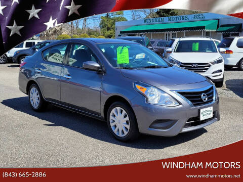 2018 Nissan Versa for sale at Windham Motors in Florence SC
