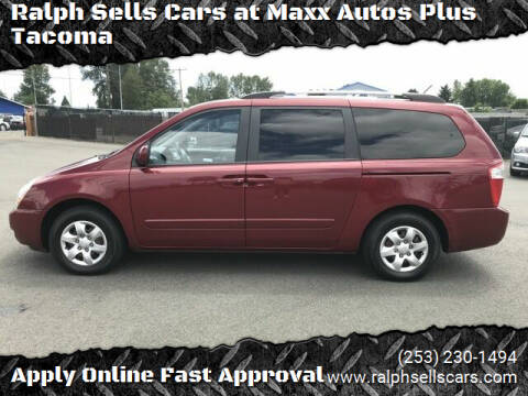 2010 Kia Sedona for sale at Ralph Sells Cars at Maxx Autos Plus Tacoma in Tacoma WA