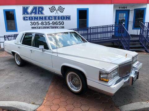 1991 Cadillac Brougham for sale at Kar Connection in Miami FL