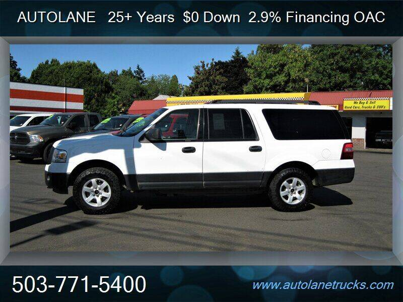 2013 Ford Expedition EL for sale at Auto Lane in Portland OR