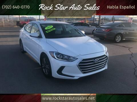 2018 Hyundai Elantra for sale at Rock Star Auto Sales in Las Vegas NV