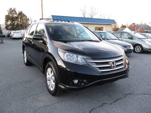 2012 Honda CR-V for sale at Supermax Autos in Strasburg VA