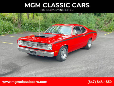 1972 Plymouth Duster for sale at MGM CLASSIC CARS-New Arrivals in Addison IL