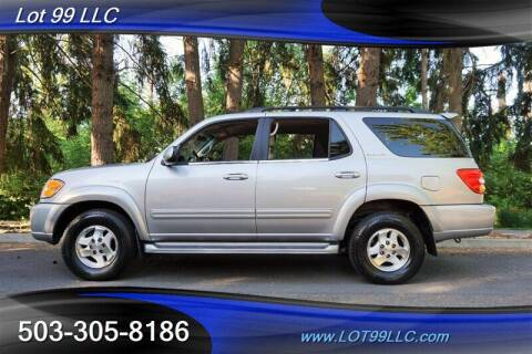 2001 Toyota Sequoia for sale at LOT 99 LLC in Milwaukie OR