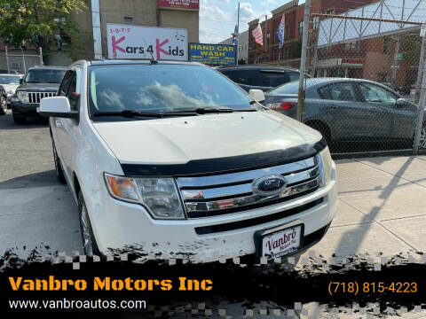 2008 Ford Edge for sale at Vanbro Motors Inc in Staten Island NY