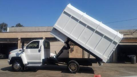 2003 GMC C5500 for sale at Vehicle Center in Rosemead CA
