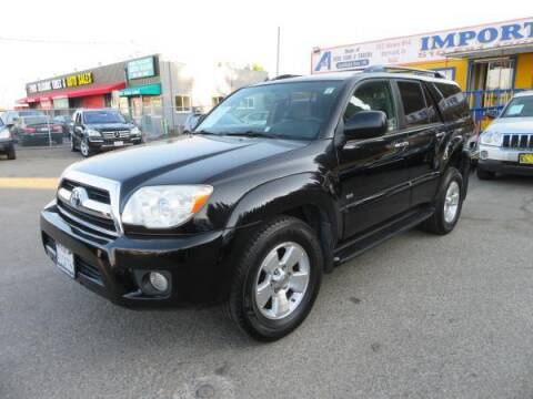 2007 Toyota 4Runner for sale at Import Auto World in Hayward CA