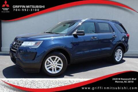 2017 Ford Explorer for sale at Griffin Mitsubishi in Monroe NC