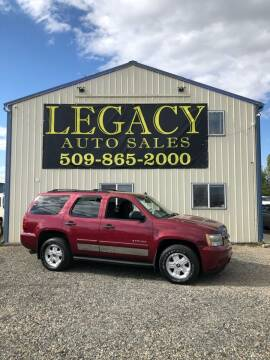 2007 Chevrolet Tahoe for sale at Legacy Auto Sales in Toppenish WA