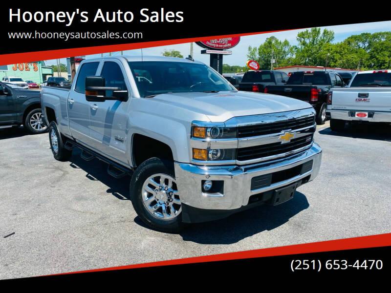 2017 Chevrolet Silverado 2500HD for sale at Hooney's Auto Sales in Theodore AL