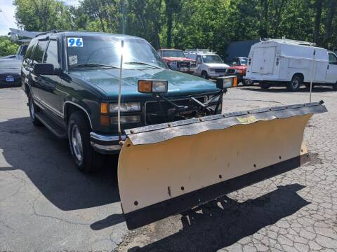 1996 GMC Yukon for sale at GREAT DEALS ON WHEELS in Michigan City IN
