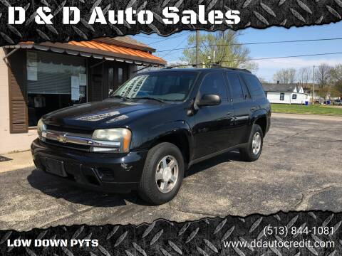 2004 Chevrolet TrailBlazer for sale at D & D Auto Sales in Hamilton OH