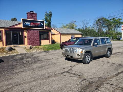 2009 Jeep Patriot for sale at Pro Motors in Fairfield OH