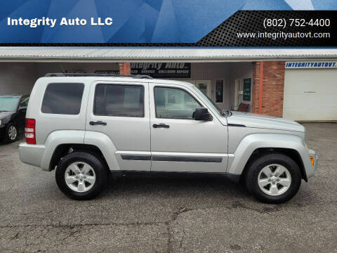 2012 Jeep Liberty for sale at Integrity Auto LLC - Integrity Auto 2.0 in St. Albans VT