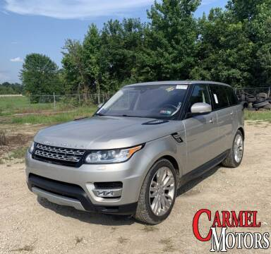 2017 Land Rover Range Rover Sport for sale at Carmel Motors in Indianapolis IN