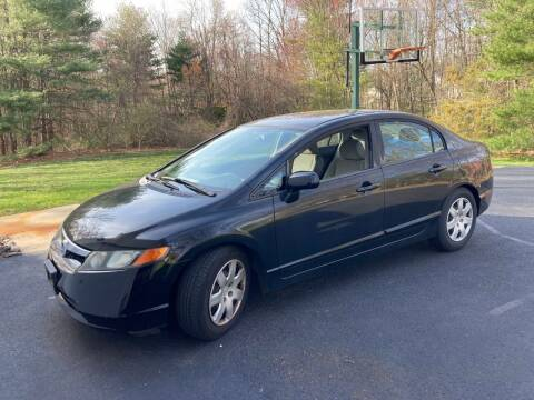 2008 Honda Civic for sale at ENFIELD STREET AUTO SALES in Enfield CT