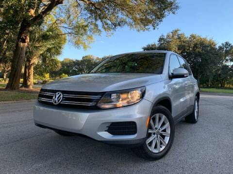 2014 Volkswagen Tiguan for sale at FLORIDA MIDO MOTORS INC in Tampa FL